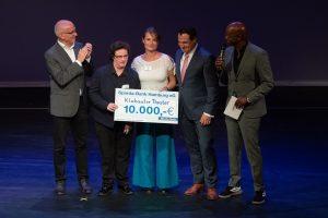 Das Klabauter Theater erhält den Sonderpreis des Sparda-Bank Hamburg on
